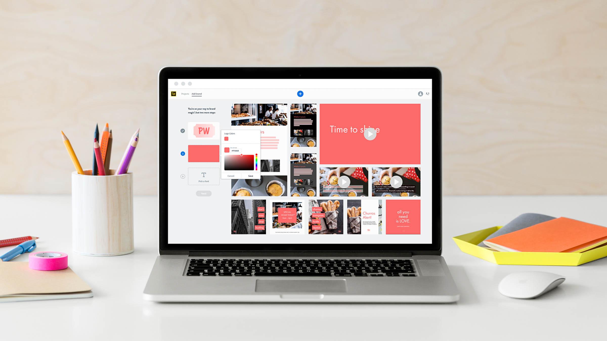 Collage erstellen online mit Leichtigkeit. Mit Adobe Spark ist das jetzt ganz einfach